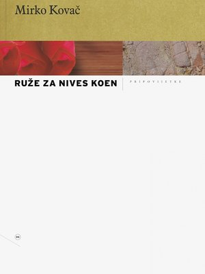cover image of Ruže za Nives Koen